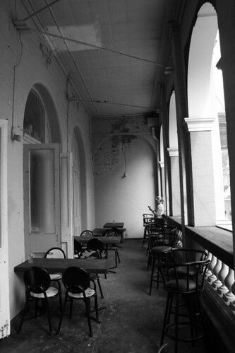 Balcony BW