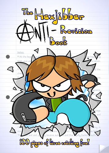 Anti Revision Book Front Cover v37 colour very new design