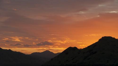 sunset komodo indonésie indo2k12