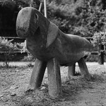 The Peculiar Looking Sausage-Pony Bench
