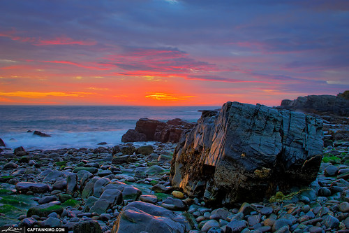 Colorful-Morning-at-Cape-Elizabeth-Maine-in-Fort-Williams-Park