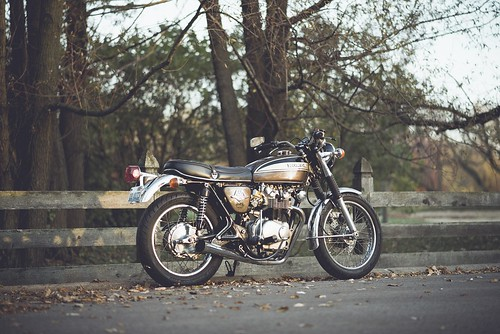 My 1974 Honda CB450 by NathanielS
