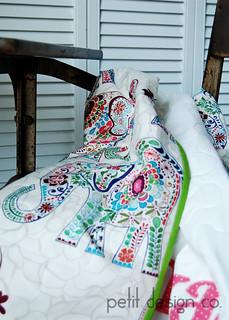 Arya - baby quilt
