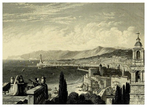 010- Genova-The hand-book for travellers in Italy from London to Naples-1838- William Brockedon
