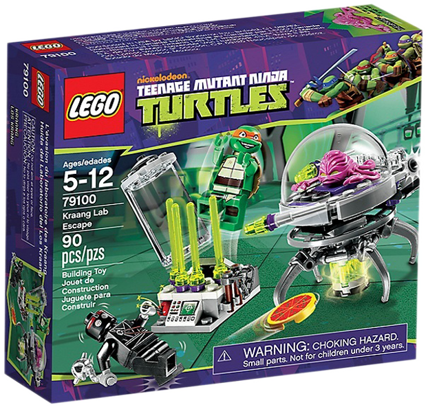LEGO Teenage Mutant Ninja Turtles 79100 - Kraang Lab Escape