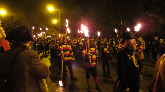 Rye Fawkes 2012 parade