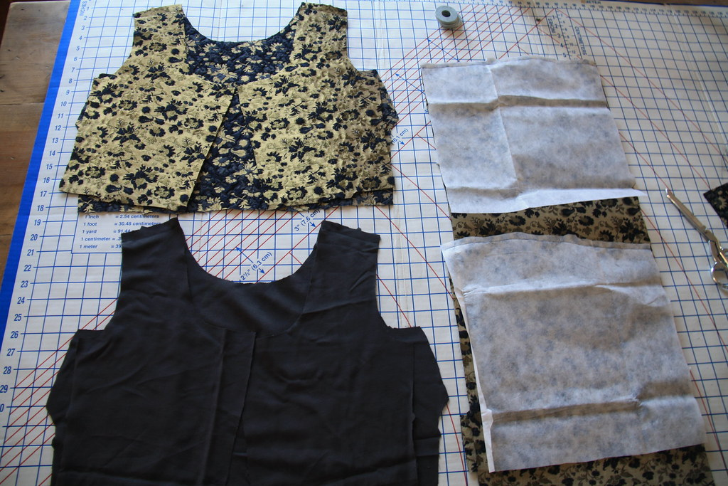 sewing saturday - brocade dress