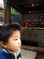 朝散歩 - 恵比寿神社 (2012/11/7)
