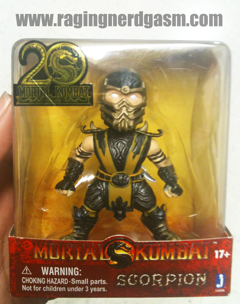 Mortal Kombat Mini Figurines Scorpion by Jazwares 012