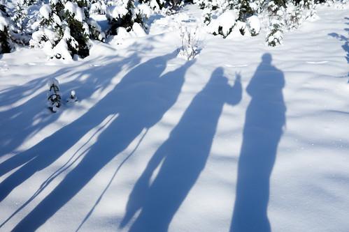 Snowshoeing Rummel Lake-5