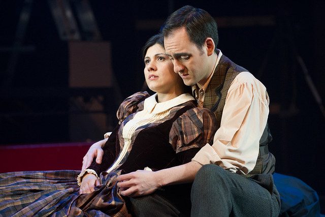 Susana Gaspar as Mimì and Pablo Bemsch as Rodolfo © Richard H Smith/ROH