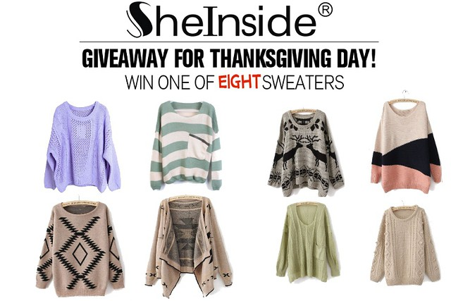 Giveaway---sweaters
