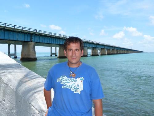 En la carretera de los Cayos de Florida