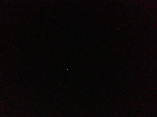 iPhone 5 で星