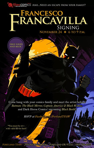 Francesco Francavilla @ Things From Another World
