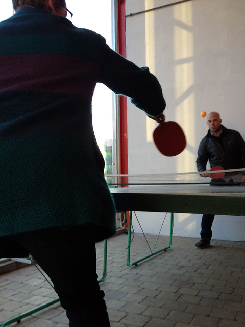 De Dolle ping pong