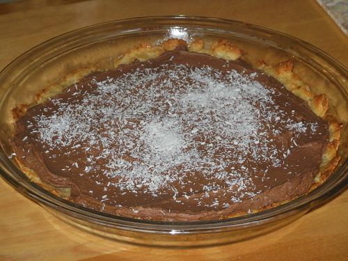 chocolate coconut cream pie gluten free