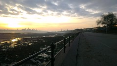 Liverpool from Vale Park Promenade Gates: Copyright 16th November, 2012 Kevin & Jane Moor