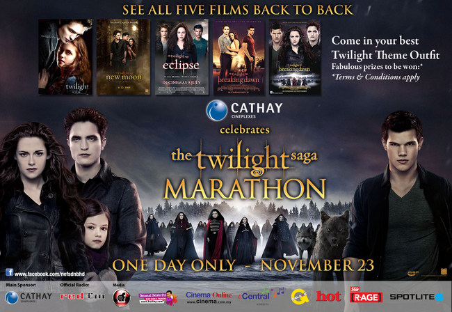 Twilight Movie Marathon