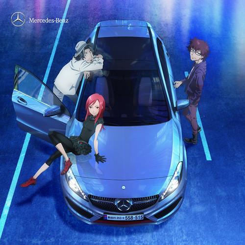 121117(2) – 日本賓士2013新款小型房車《NEXT A-Class》推出6分鐘動畫短片,製作群、聲優陣容同時揭曉! (1/5)