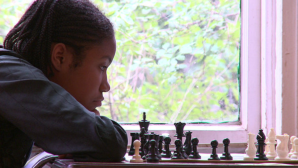 Rochelle Ballantyne strives to be the best chess player in BROOKLYN CASTLE.