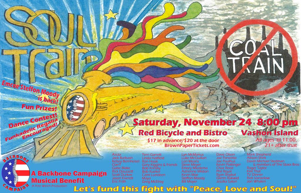Soul Train NOT Coal Train poster