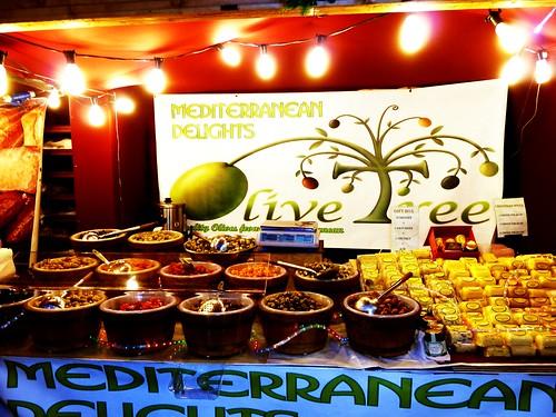Mediterranean Products at Glasgow Christmas Market