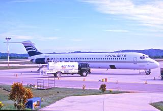 255ad - Tikal Jets Airline DC-9-51; TG-JII@FRS;04.08.2003