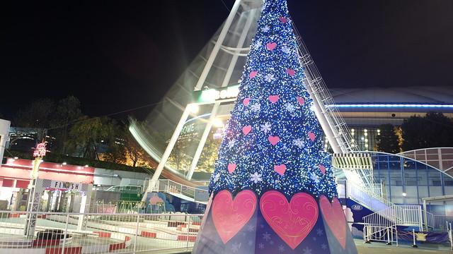 Tokyo dome city Illumination 12