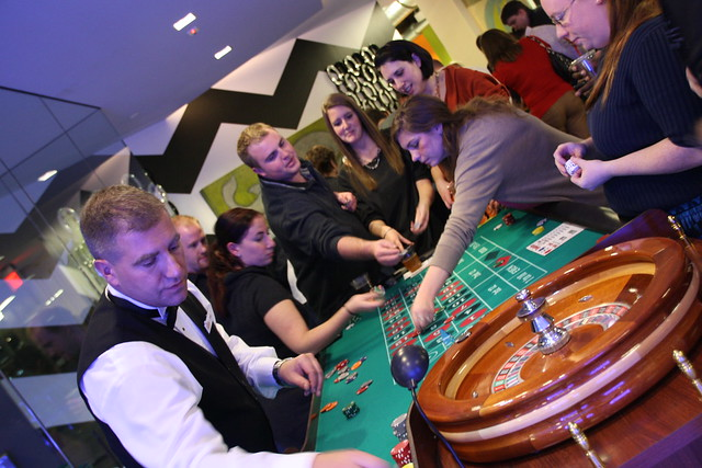 FatCow Hosts a Casino Night and Donates Moooola to Charity