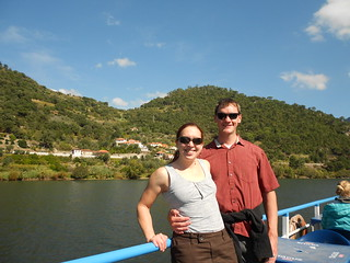 Enjoying Our Cruise Up Porto River