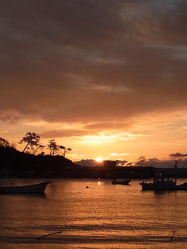 sea sun japan sunrise 太陽 海 miyagi 宮城 日の出 夜明け minamisanriku 南三陸町 sodehama 袖浜
