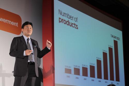 樂天集團近三年來極速成長,成為全球前三大電子商務網站,三木谷浩史社長希望帶領台灣網路賣家放眼全球市場