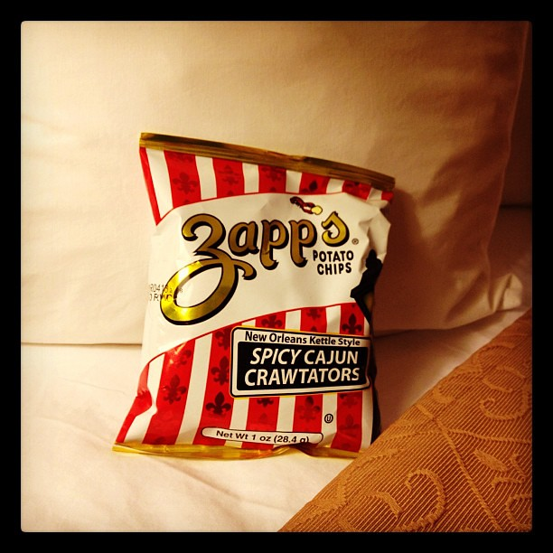 Who needs a mint on the pillow when there's Cajun Crawtators? @choicehotels