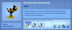 Busy Bee Bouncing Bobble