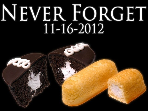 Hostess Twinkies Never Forget
