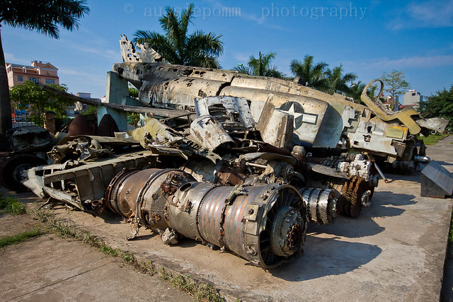 B-52 Wreckage