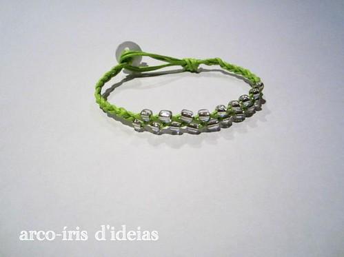 Pulseira Verde e Prata n.º 3