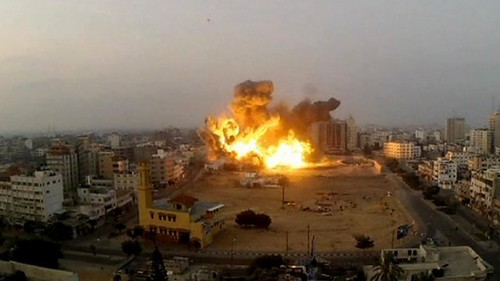 Civilian deaths soar as the Israeli Air Force continues to bomb Gaza. The United States government arms, finances and provides political cover for the genocide against the Palestinians. by Pan-African News Wire File Photos