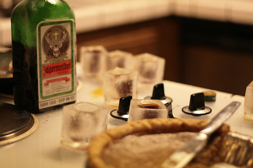 jager and ice shot glasses