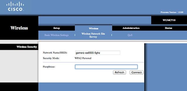 WUMC710 - Setup 2