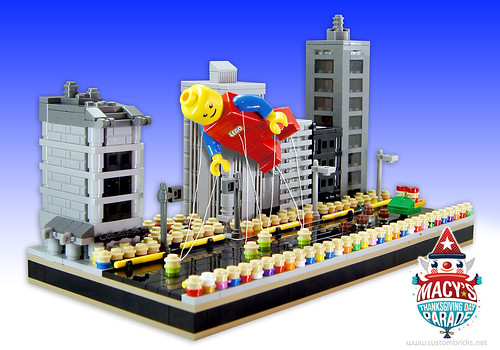 Lego Macy's Thanksgiving Day Parade by customBRICKS