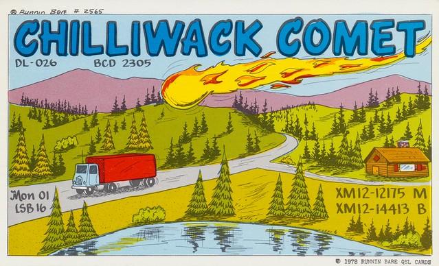 Chilliwack Comet - Chilliwack, British Columbia