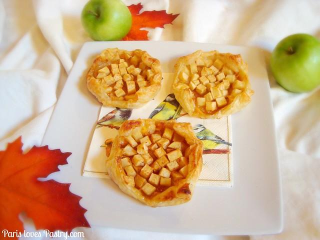 Autumn Spiced 苹果Tartlets