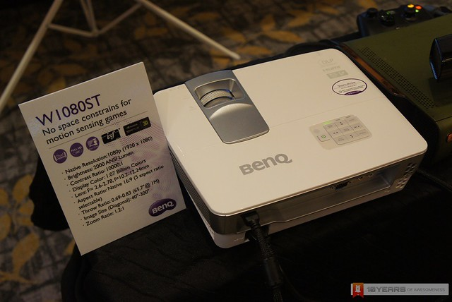 [Preview] BenQ W1080ST Short Throw Projector