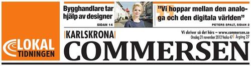 2012-11-21 Commersen, Titel Förstasida