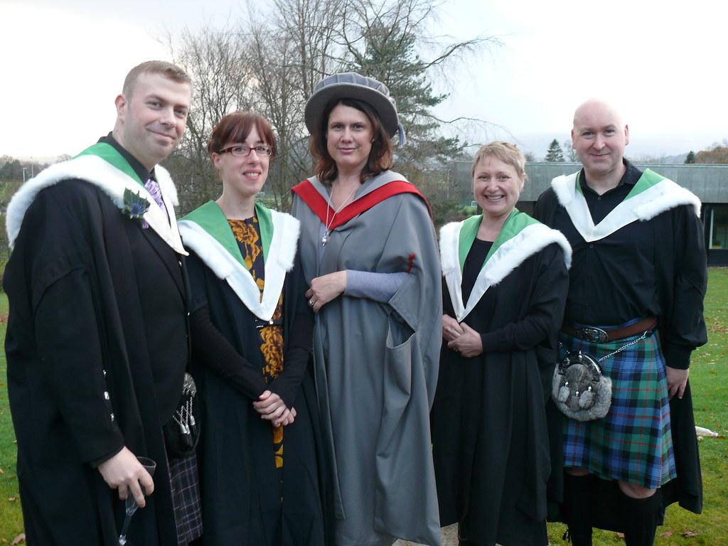 Winter Graduation (Stirling) – University of Stirling