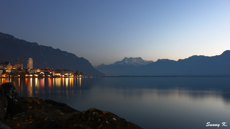 Montreux at Dusk 1