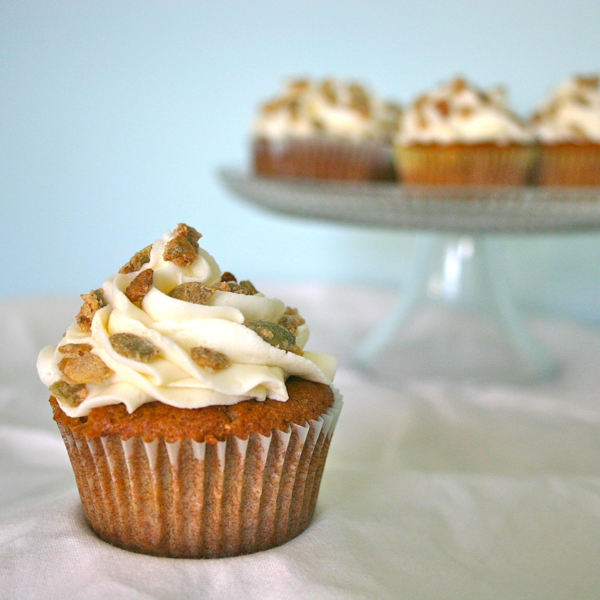Jesicakes: Pumpkin Spice Cupcakes