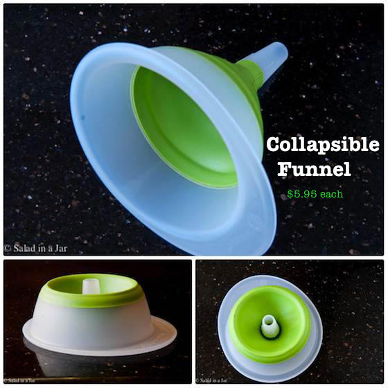 10 Inexpensive Stocking Stuffers From a Restaurant Supply House - collapsible funnel